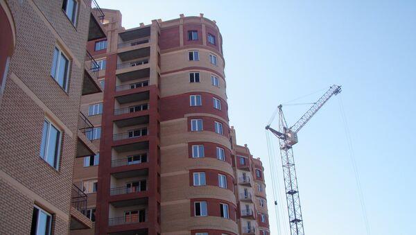 Стройка в Томске