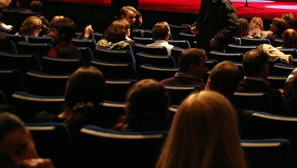 Зрители в театре. Архивное фото