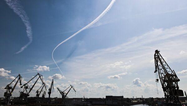 Верфи Балтийского завода, архивное фото
