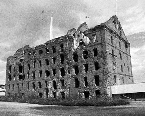 В 1942-ом мельница Герхарда служила опорным пунктом обороны
