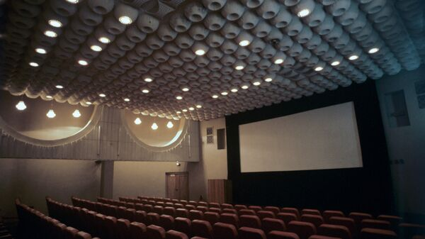 Зрительный зал в Доме кино. Архивное фото