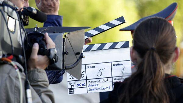 Съемки фильма. Апхивное фото