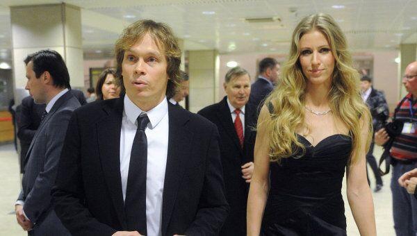 Максим Афиногенов и Елена Дементьева