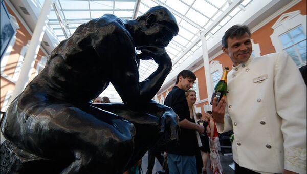 Скульптуры Родена  в Петропавловской крепости в Петербурге