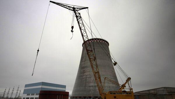 Строительство нового энергоблока на Южной ТЭЦ ОАО ТГК-1. Архивное фото