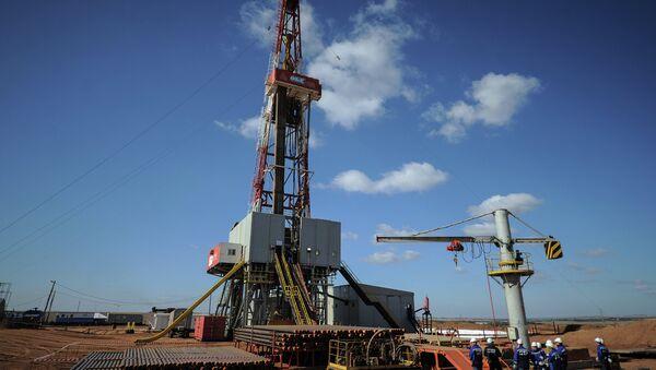 Газовое месторождение. Архивное фото