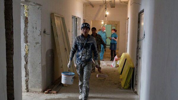 Капитальный ремонт в областной клинической больнице (ОКБ)