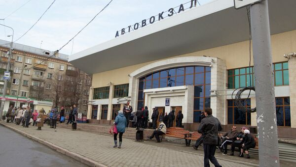 Томский автовокзал