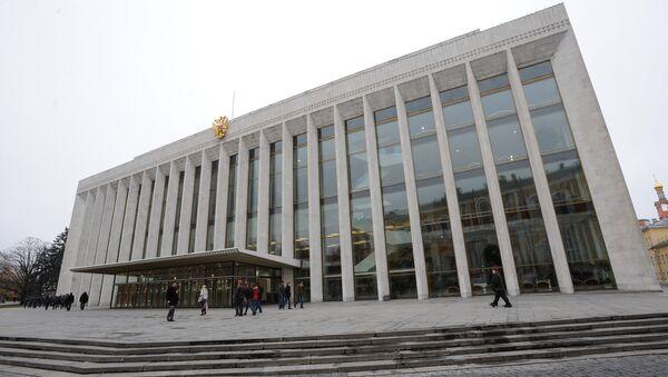 Государственный Кремлевский дворец. Архивное фото