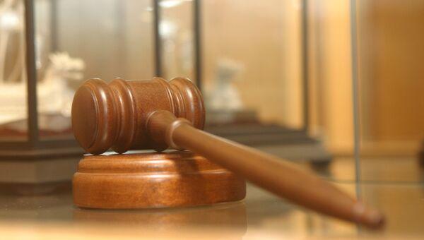 Молоток судьи. Архивное фото
