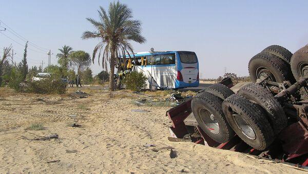 Автокатастрофа в Египте. Архивное фото