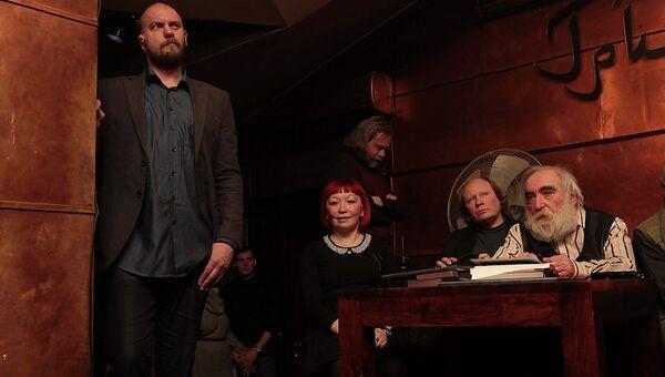 Лауреаты Григорьевской премии Наташа Романова и Андрей Родионов