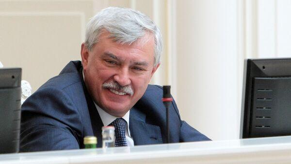 Губернатор Петербурга Георгий Полтавченко. Архивное фото