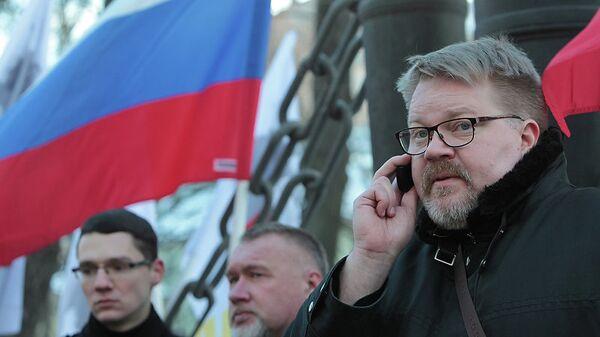 Пикет у консульства Финляндии в Санкт-Петербурге