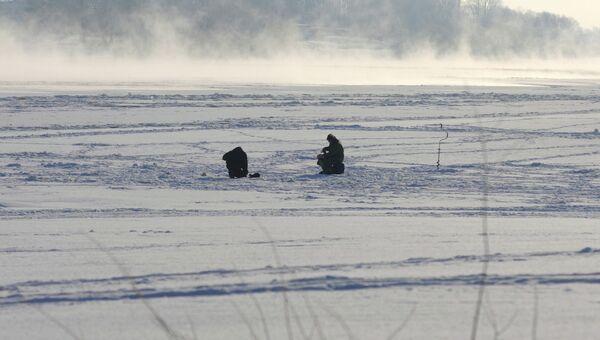 Зимняя рыбалка. Архивное фото