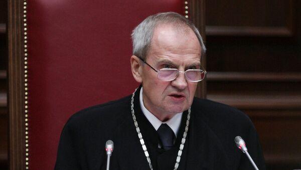 Председатель КС РФ Валерий Зорькин. Архивное фото