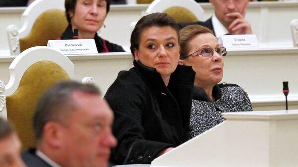 Анастасия Мельникова в Законодательном собрании Санкт-Петербурга
