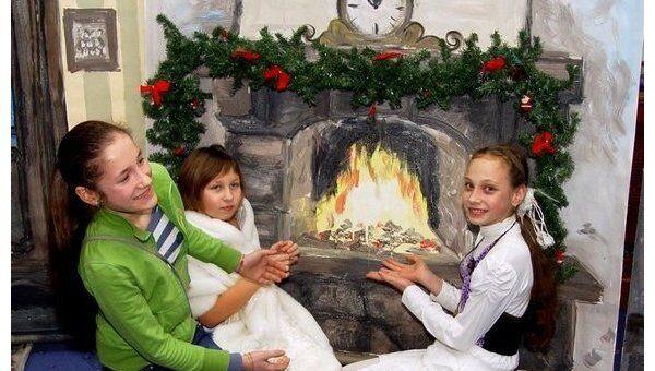 Новогодний праздник для детей-сирот