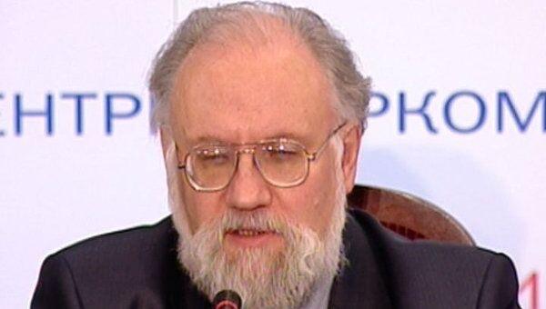 Оглашение предварительных итогов выборов в Госдуму