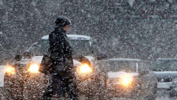 Около 20 сантиметров снега может выпасть в Москве в воскресенье и понедельник
