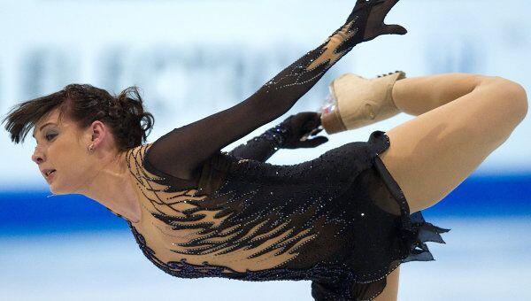 Фигурное катание. Финал Гран-при.  Алена Леонова исполняет произвольную программу