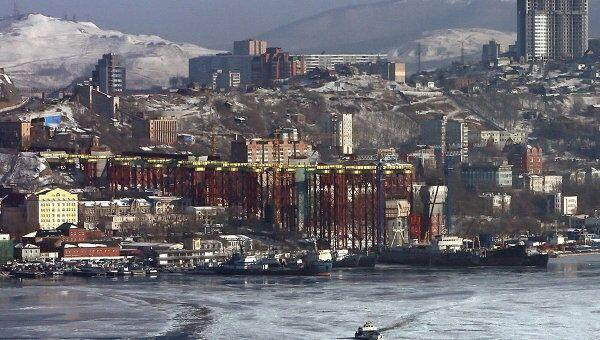 Вид Владивостока. Архив