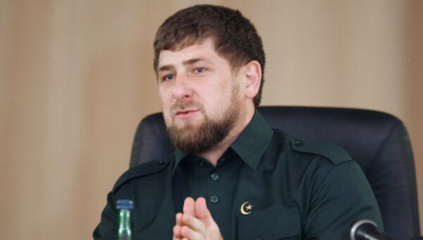 Глава Чечни Рамзан Кадыров. Архив