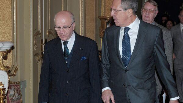 Встреча глав МИД России и Алжира в Москве