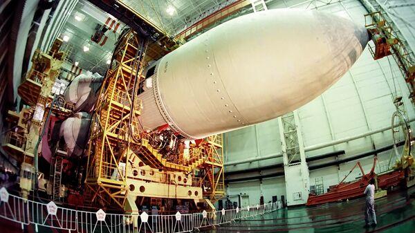 Советский орбитальный корабль Буран. Архивное фото