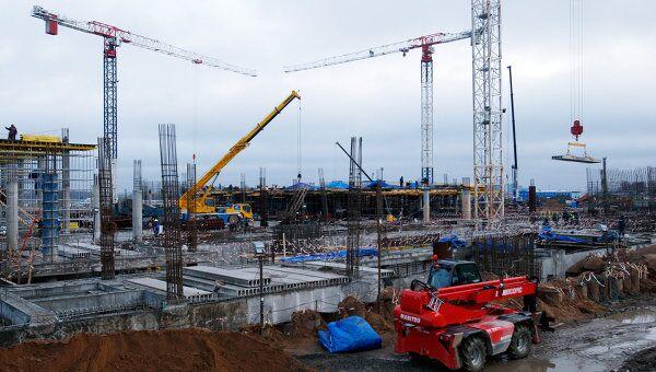 Строительство нового терминала Пулково