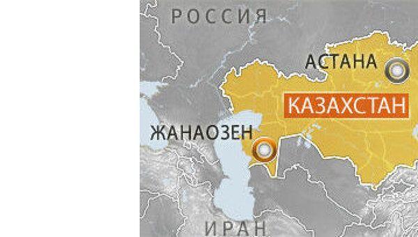 Казахстан, Жанаозен