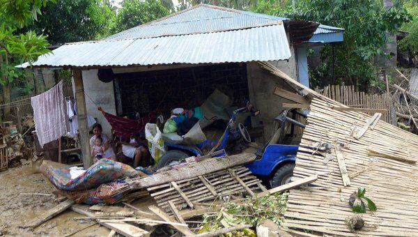 Тайфун на Филлипинах