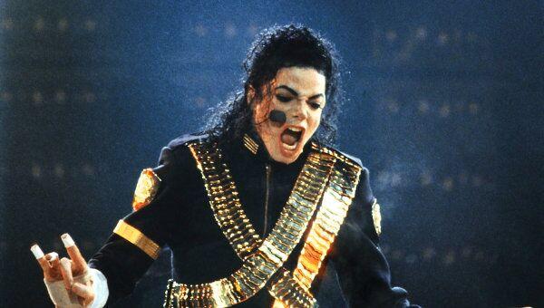 Концерт американского певца Майкла Джексона в Москве