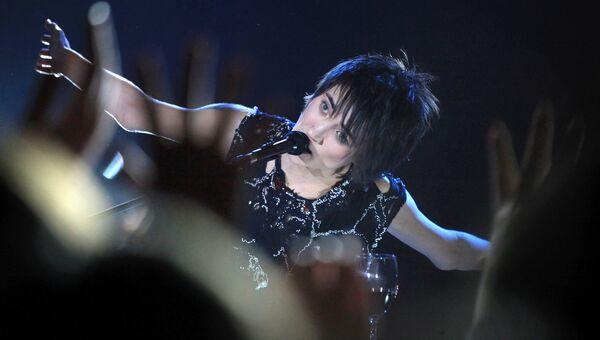 Певица Земфира выступает в казанском клубе Пирамида