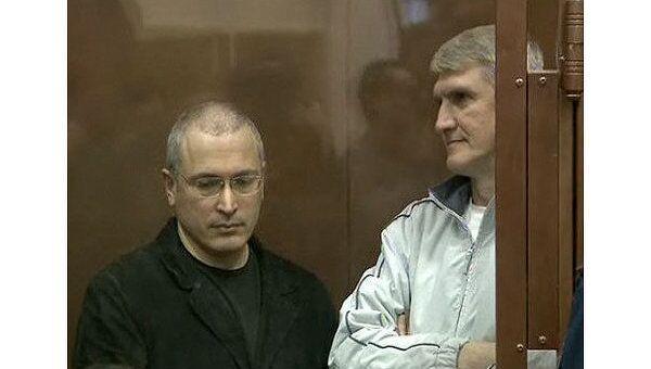 Михаил Ходорковский и Платон Лебедев. Архив