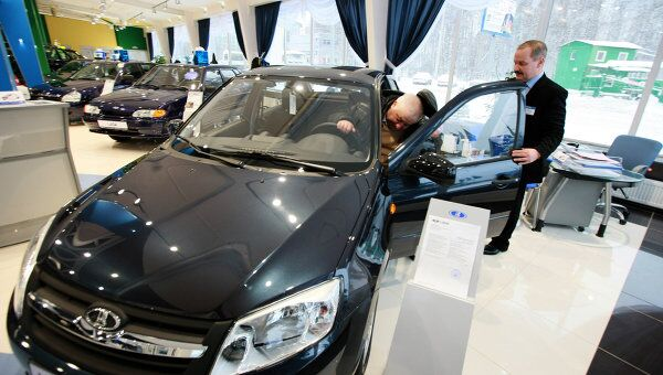 Старт продаж автомобилей Лада Гранта
