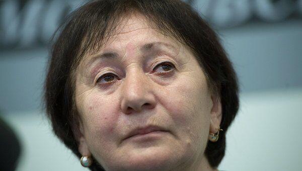 Пресс-конференция Аллы Джиоевой