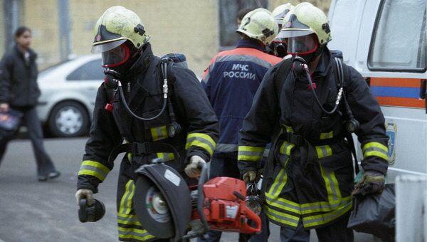 В Москве спасатели впервые спасали пассажира из разбившегося Феррари