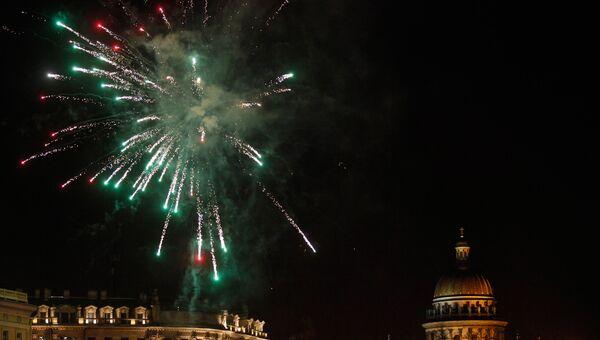 Празднование Нового года в Санкт-Петербурге