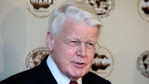 Президент Исландии Олавур Рагнар Гримссон. Архив.