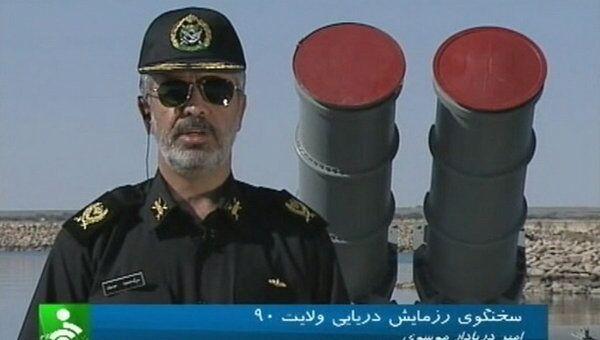 Заместитель главкома ВМС Ирана Махмуд Мусави