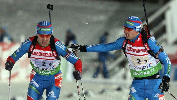 Алексей Волков и Евгений Устюгов (слева направо)