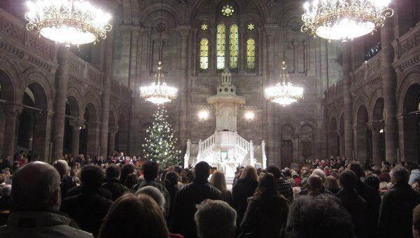 Концерт Православное Рождество в Страсбурге