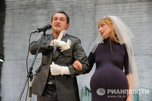 Трехгрошовая опера на сцене МХТ им. А.П. Чехова