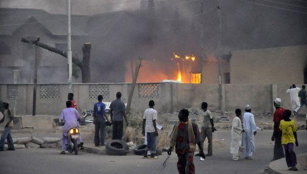 Взрыв в нигерийском городе Кано