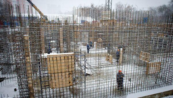 Строительство православного храмового комплекса. Архив