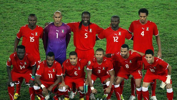 Футболисты Экваториальной Гвинеи