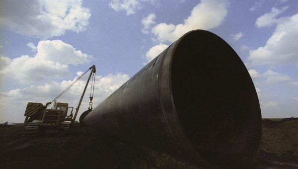 Строительство газопровода Уренгой-Помары-Ужгород, архивное фото