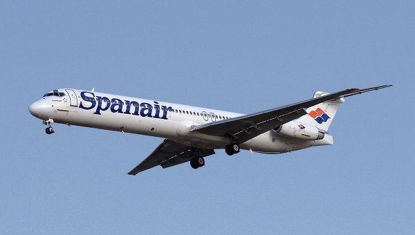 Лайнер авиакомпании Spanair. Архив