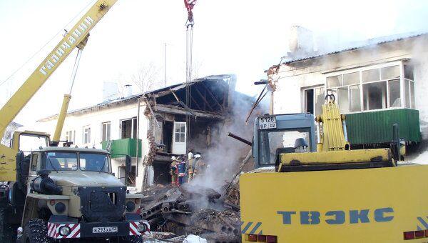 В Башкирии прогремел взрыв в жилом доме